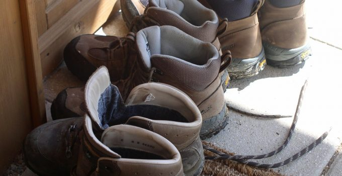 different kinds of hiking boots